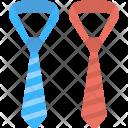 Striped Neckties Icon