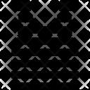 Striped tshirt Icon