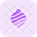 Stripped Bauble Icon