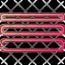 Strokes Design Line Icon