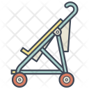 Stroller Cane Carriage Icon
