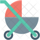 Baby Carriage Cart Icon