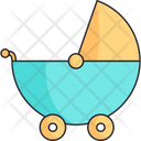 Stroller Boy Newborn Icon