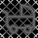 Stroller Baby Pram Icon