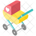 Stroller Perambulator Baby Carriage Icon