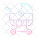 Stroller Buggy Baby Icon