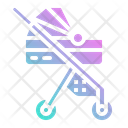 Stroller Kid Baby Icon