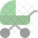 Stroller Baby Baby Carriage Icon