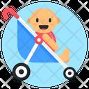 Pram Stroller Pushchair Icon