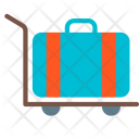 Stroller Airport Luggage Icon