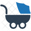 Baby Push Stroller Icon