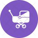 Stroller Baby Kid Icon