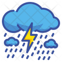 Strom Rainy Weather Icon
