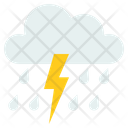 Strom Rain Lightening Icon