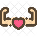 Strong Hearth Muscle Icon