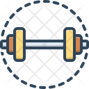 Strong Dumbbell Workout Icon