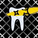 Oral Teeth Shield Icon