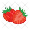 Strowberry Fruit Fresh Icon