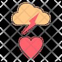 Struck Love Romance Icon