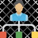 Hierarchy Team Company Icon
