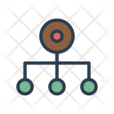 Structure Organization Network Icon