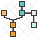 Blockchain Structure Formation Icon