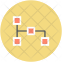 Structure Workflow Business Icon