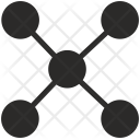 Hub Structure Network Icon
