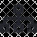 Structure Flowchart Organization Icon