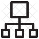 Hierarchical Network Model Icon