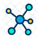 Connections Graph Network Icon