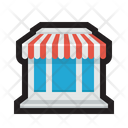 Structure House Diner Icon