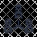 Organizational Structure Company Icon