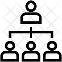 Structure Hierarchy Organization Icon