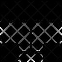 List Scheme Sitemap Icon
