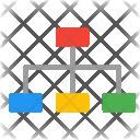 Structure Organization Relation Icon