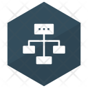Structure Connection Network Icon