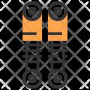Strut Suspension Automobile Icon