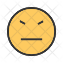 Stubborn face Icon