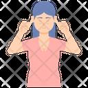 Stubborn Female Icon