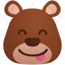 Stuck Out Smile Emoji Sticker Icon