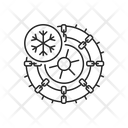 Studded Tires And Chains Studded Tires Icon
