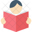 Reader Student Pupil Icon