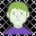 Guy Pupil Man Icon