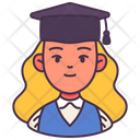 Woman Avatar Student Icon