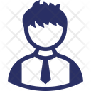 Student Boy Person Icon