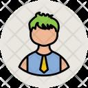 Student Boy Guy Icon