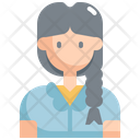 Student Woman User Icon