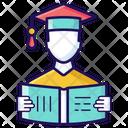 Male Student Undergraduate Pupil Icon