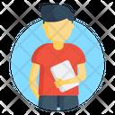 Student Schoolboy Pupil Icon